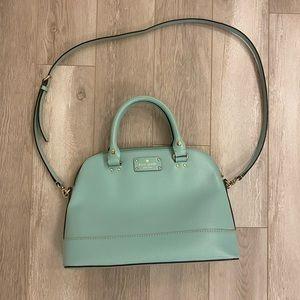 Kate spade turquoise bowler bag ♠️